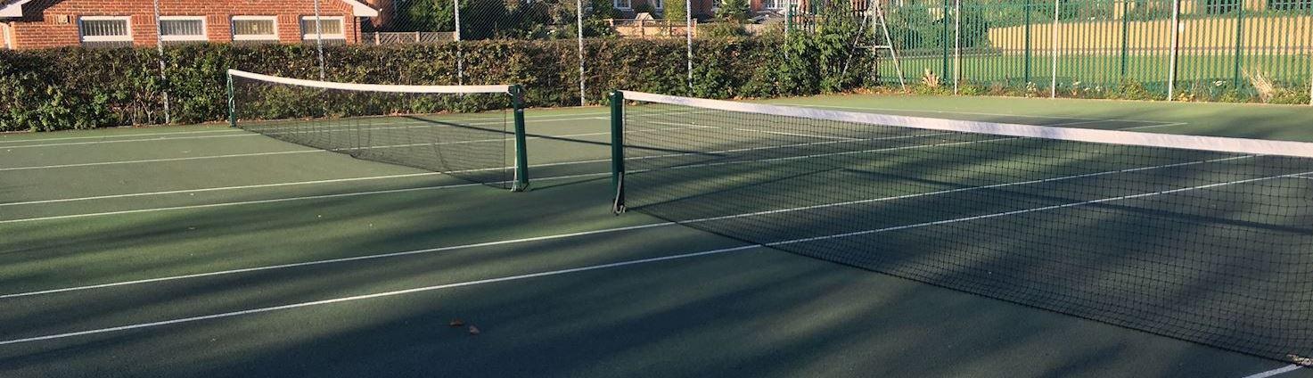 Tennis Courts - Cobham Recreation Ground