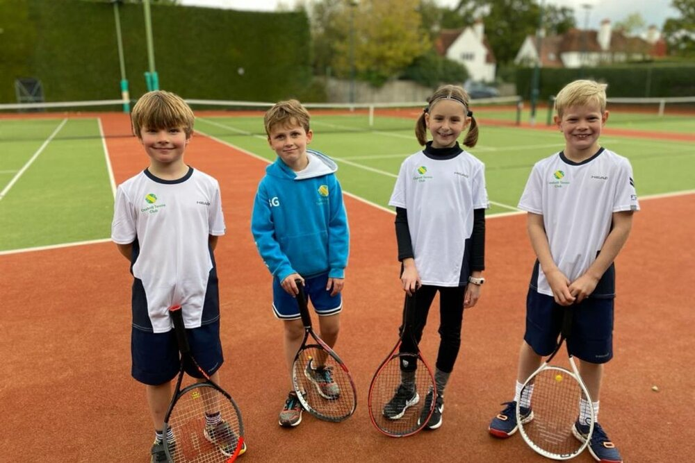 Surrey Tennis Coaching - Juniors lessons in Weybridge Cobham Oxshott and Leatherhead